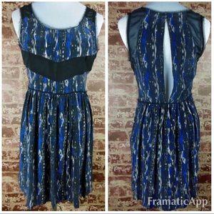 .anthropologie silence & noise 100%silk dress 2013